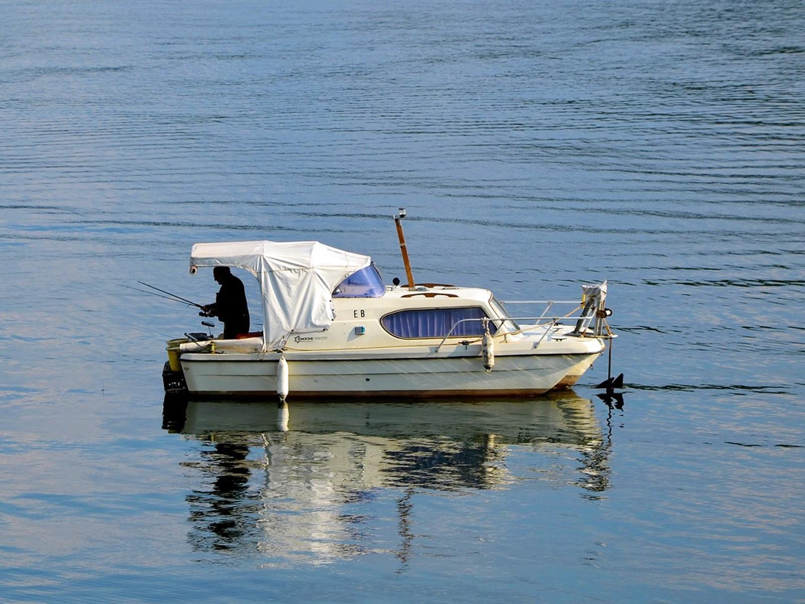 Lystfiskeri på søen