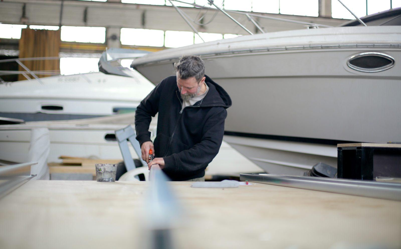 Forårsklargøring af båd: det kribler i fingrene for at komme på vandet